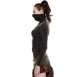 tričko dámské s dlouhým rukávem PUNK RAVE - Catacomb - brown, PUNK RAVE