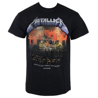 tričko pánské Metallica - Stockholm 86 - Black, NNM, Metallica