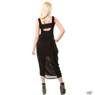 šaty dámské VIXXSIN - Misery - Black - POŠKOZENÉ, VIXXSIN