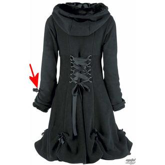 kabát dámský POIZEN INDUSTRIES - Alice - Black - POŠKOZENÝ, POIZEN INDUSTRIES