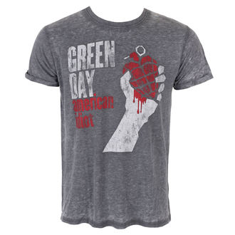 tričko pánské Green Day - American Idiot Vintage - Burnout - ROCK OFF, ROCK OFF, Green Day