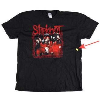 tričko pánské Slipknot - Band Frame - Blk - BRAVADO EU - SKTS03MB - POŠKOZENÉ, BRAVADO EU, Slipknot