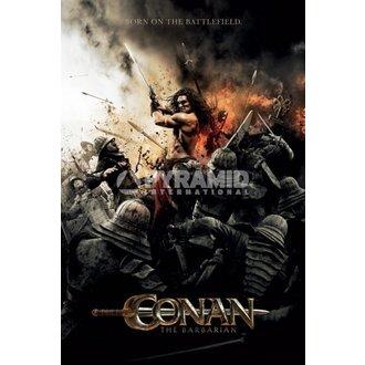 plakát Barbar Conan - Battlefield - PYRAMID POSTERS - ROZBALENÝ, PYRAMID POSTERS