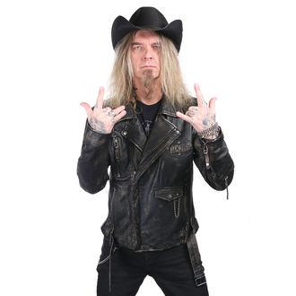 klobouk WORNSTAR - Hellrider - Black Rocker Cowboy, WORNSTAR