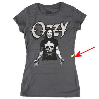 tričko dámské Ozzy Osbourne - MG09 - BRAVADO - POŠKOZENÉ, BRAVADO, Ozzy Osbourne