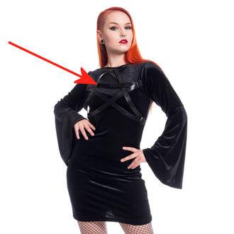 šaty dámské Heartless - HOCUS POCUS - BLACK - POŠKOZENÉ, HEARTLESS