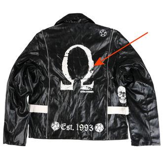 bunda pánská (křivák) ADERLASS - Rock Jacket Lacrimas Profundere - Black - POŠKOZENÁ, ADERLASS