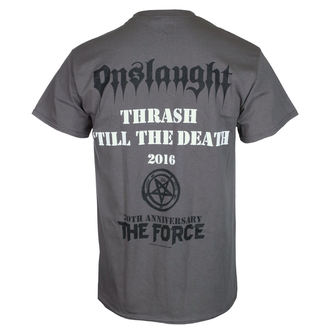 tričko pánské ONSLAUGHT - THE FORCE 30TH ANNIVERSARY - CHARCOAL - RAZAMATAZ, RAZAMATAZ, Onslaught