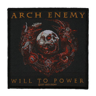 nášivka ARCH ENEMY - WILL TO POWER - RAZAMATAZ, RAZAMATAZ, Arch Enemy
