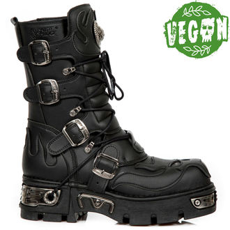boty NEW ROCK - VEGAN NEGRO - NEW REACTOR NEGRO, NEW ROCK
