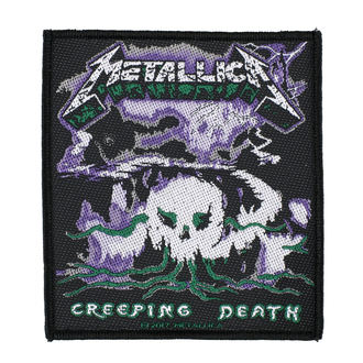 nášivka METALLICA - CREEPING DEATH - RAZAMATAZ, RAZAMATAZ, Metallica
