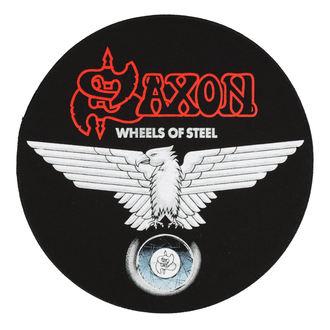 nášivka velká SAXON - WHEELS OF STEEL - RAZAMATAZ, RAZAMATAZ, Saxon