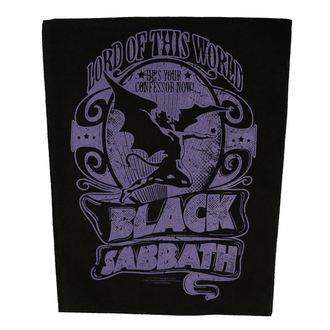 nášivka velká BLACK SABBATH - LORD OF THIS WORLD - RAZAMATAZ, RAZAMATAZ, Black Sabbath