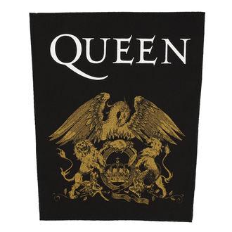 nášivka velká QUEEN - CREST - RAZAMATAZ, RAZAMATAZ, Queen