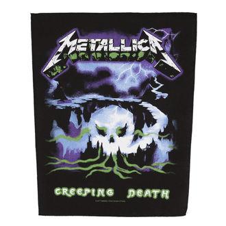 nášivka velká METALLICA - CREEPING DEATH - RAZAMATAZ, RAZAMATAZ, Metallica