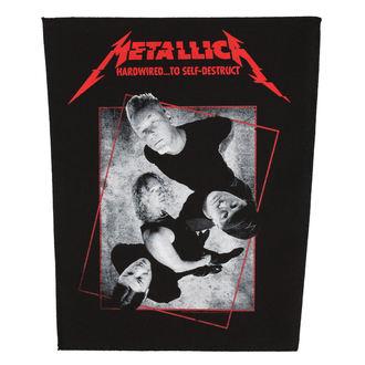 nášivka velká METALLICA - HARDWIRED CONCRETE - RAZAMATAZ, RAZAMATAZ, Metallica