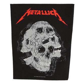 nášivka velká METALLICA - SKULLS - RAZAMATAZ, RAZAMATAZ, Metallica