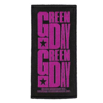 nášivka GREEN DAY - PURPLE LOGO - RAZAMATAZ - SP2922