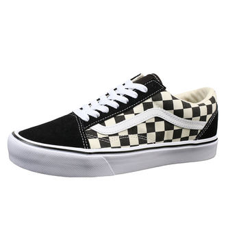 boty VANS - UA OLD SKOOL LITE (Checkerboard) - Black /White, VANS