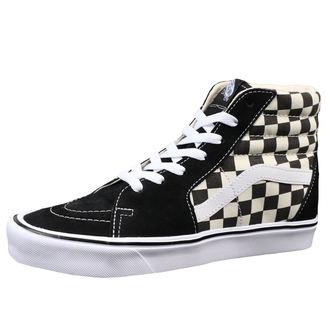 boty VANS - UA SK8-HI LITE (Checkerboard) - Black/White, VANS