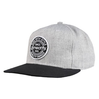 kšiltovka MEATFLY - COMP SNAPBACK B - GREY HEATHER/BLACK, MEATFLY