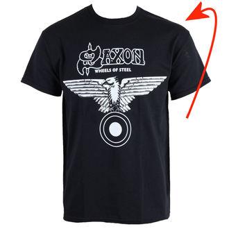 tričko pánské Saxon - Wheels Of Steel - RAZAMATAZ - POŠKOZENÉ, RAZAMATAZ, Saxon