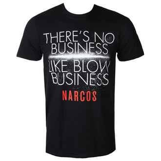 tričko pánské NARCOS - NO BUSINESS LIKE - PLASTIC HEAD - PH9755