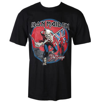 tričko pánské Iron Maiden - Trooper - Red Sky Black - ROCK OFF, ROCK OFF, Iron Maiden