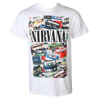 tričko pánské NIRVANA - CASSETTES - PLASTIC HEAD, PLASTIC HEAD, Nirvana
