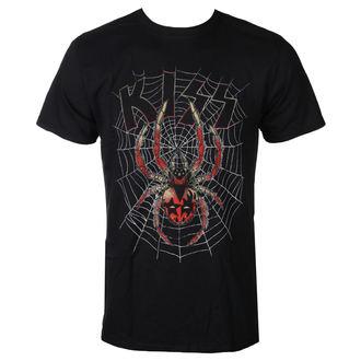 tričko pánské Kiss - Spider - Black - ROCK OFF, ROCK OFF, Kiss