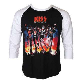 tričko pánské s 3/4 rukávem KISS - DESTROYER - PLASTIC HEAD, PLASTIC HEAD, Kiss