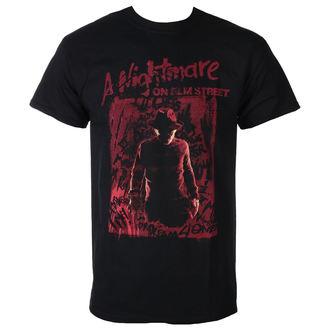 tričko pánské Noční můra z Elm Street - FREDDY SILHOUETTE - PLASTIC HEAD, PLASTIC HEAD