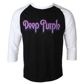 tričko pánské s 3/4 rukávem DEEP PURPLE - LOGO - PLASTIC HEAD, PLASTIC HEAD, Deep Purple