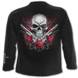 tričko pánské s dlouhým rukávem SPIRAL - DEATH PISTOL, SPIRAL