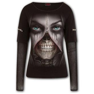 tričko dámské s dlouhým rukávem SPIRAL - ZIPPED, SPIRAL