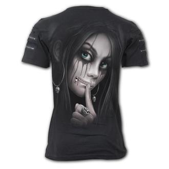 tričko pánské SPIRAL - ZIPPED, SPIRAL
