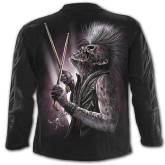 tričko pánské s dlouhým rukávem SPIRAL - ZOMBIE BACKBEAT, SPIRAL