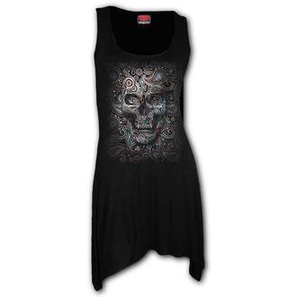 šaty dámské SPIRAL - SKULL ILLUSION, SPIRAL