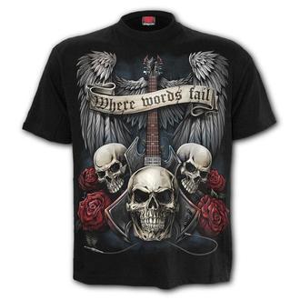 tričko pánské SPIRAL - UNSPOKEN
