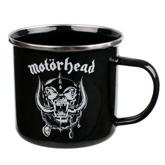 hrnek (plecháček) Motörhead - Logo - EMUGMH1