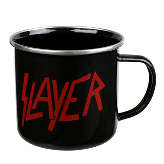 hrnek (plecháček) Slayer - Logo, NNM, Slayer