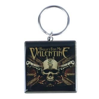 klíčenka (přívěšek) Bullet For My Valentine, NNM, Bullet For my Valentine