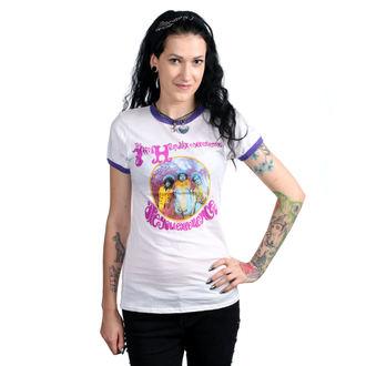 tričko dámské JIMI HENDRIX - AYE - RINGER - BRAVADO, BRAVADO, Jimi Hendrix