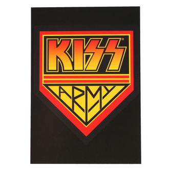 pohlednice KISS - ARMY LOGO - ROCK OFF - KISSPC05