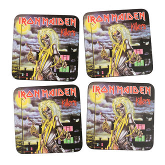 podtácky IRON MAIDEN - ROCK OFF, ROCK OFF, Iron Maiden