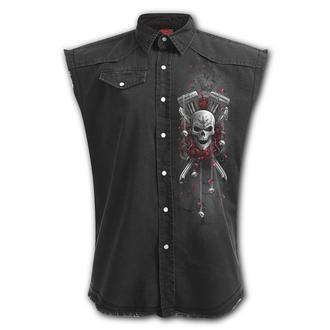 košile pánská bez rukávů (vesta) SPIRAL - DOTD BIKERS, SPIRAL