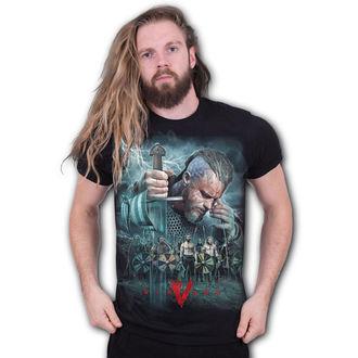tričko pánské SPIRAL - Vikingové - BATTLE - G203M101
