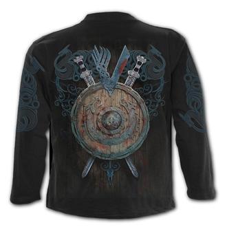 tričko pánské s dlouhým rukávem SPIRAL - Vikingové - BATTLE, SPIRAL