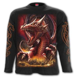 tričko pánské s dlouhým rukávem SPIRAL - AWAKE THE DRAGON, SPIRAL