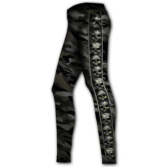 kalhoty dámské (legíny) SPIRAL - CAMO-SKULL, SPIRAL